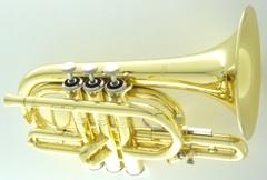 Carol Brass C管ポケットトランペット・ラッカー
