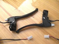 電動自転車用スイッチ付きブレーキレバー(カンチ、キャリパー用)