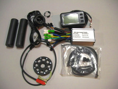 250WブラシレスモーターコントローラーLCDセット