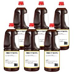 減塩 本醸造ソフトたまり醤油「食塩8%」(1.8L×6本)※化学調味料不使用