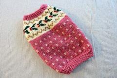 ヒイラギのセーター「ピンク」