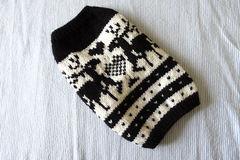 トナカイのセーターМS「黒」