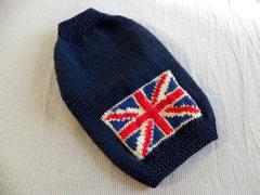 イギリス国旗のセーター「ネービー」
