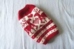トナカイのセーターМS「赤」