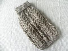 生命の木のセーター「淡グレー」