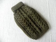 生命の木のセーター「オリーブグリーン」