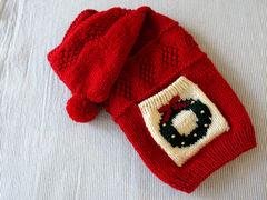 クリスマスセーター「赤」
