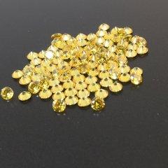 ダイヤカット2.5×1.7 イエロー キュービックジルコニア