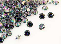 ダイヤカット4×2.5 ファントム キュービックジルコニア