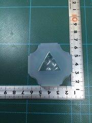 25「水面三角形」レジン用モールド