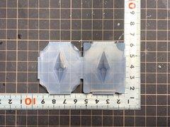 30「双六角錐ペンデュラムB」レジン用モールド