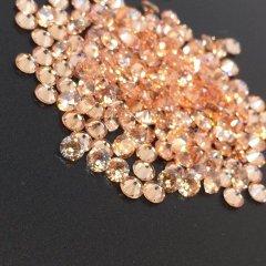 ダイヤカット2.5×1.7 オレンジ キュービックジルコニア