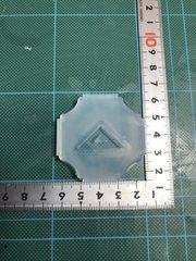 25「三角定規(二等辺三角形)」レジン用モールド