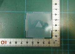13「プレート穴あけ 三角」レジン用モールド
