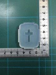 小「十字架」レジン用モールド