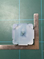 10mm「ピラミッド(裏)」レジン用モールド