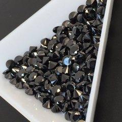ダイヤカット4×2.5 ブラック キュービックジルコニア