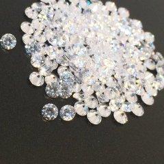 ダイヤカット2.5×1.7 クリア キュービックジルコニア