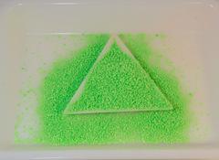 蓄光粒 「グリーン」3g