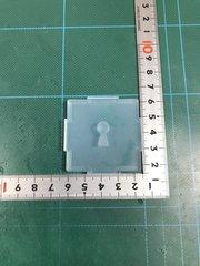 15「プレート穴あけ 鍵穴」レジン用モールド