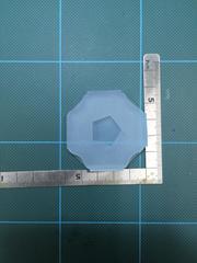 12mm「五角形」プレート