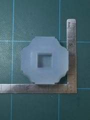 15mm 「キューブ」レジン用モールド