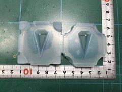 30「六角錐ペンデュラム」レジン用モールド