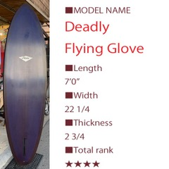Deadly flying glove  k2082
