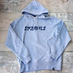 SPRAWLS Check embroidery logo Hoodie10oz