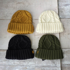 TCSS CABLE KNIT BEANIE