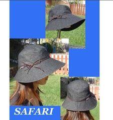 【紙:旧】SAFARI HAT  56~62サイズとガイドセット