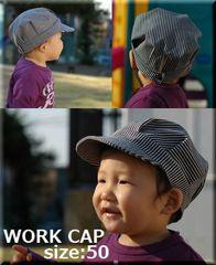 【紙】Work cap ベビー&幼児サイズセット
