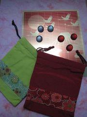 新春(寿)9路とスケル・ストンのセット(巾着袋付)