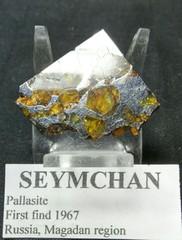 セイムチャン・パラサイト隕石7,3G(ロシア・マガダン産)