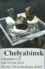 チェラビンスク隕石6,6G(ロシア・チェラビンスク産)