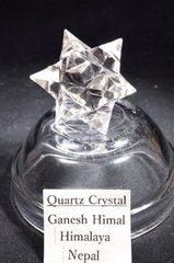 アステロイド水晶14,4G手彫り(ヒマラヤ・ガネーシュヒマール産)