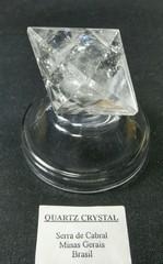レムリアンシード・レインボー・ダブルピラミッド(3角形8面体)55,3G(ブラジル・カブラル産)