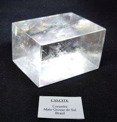 レインボー・オプティカル・カルサイト・ポリッシュ原石299,0G(レインボー)ブラジル産