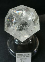 レムリアンシードクリスタル・レインボー・ジオメトリー(5角形12面体)145,2G(ブラジル・バイーヤ産)