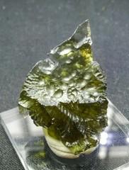 モルダバイト原石4,7G(チェコスロバキア産)