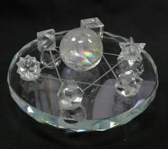 限定1セット!ジオメトリックス・フルセット大(六芒星七星陣台座付)ヒマラヤ水晶