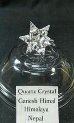 アステロイド水晶4,2G手彫り(ヒマラヤ・ガネーシュヒマール産)
