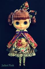 赤ずきんドレス