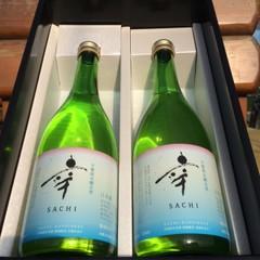 自然派日本酒「幸SACHI」贈答化粧箱