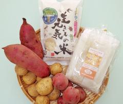 おいしいセット・生きもの元気米、すずめ野菜