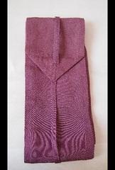 弓巻 鮫小紋 赤紫 yumaki-samekomon(sharkshin pattern)-reddish purple