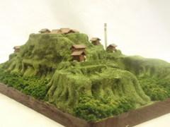 武田の城 真篠城 お城 ジオラマ 完成品