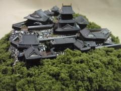津和野城 お城 ジオラマ 完成品
