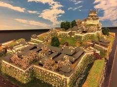 小田原城 お城 ジオラマ 完成品