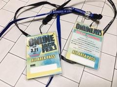 【配信フェスグッズ】ONLINE JACK PASS!! (ステッカー付き) ※送料無料!!